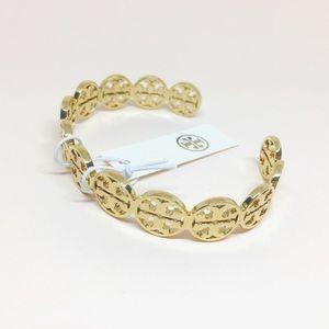 NWT Tory Burch gold cuff bracelet